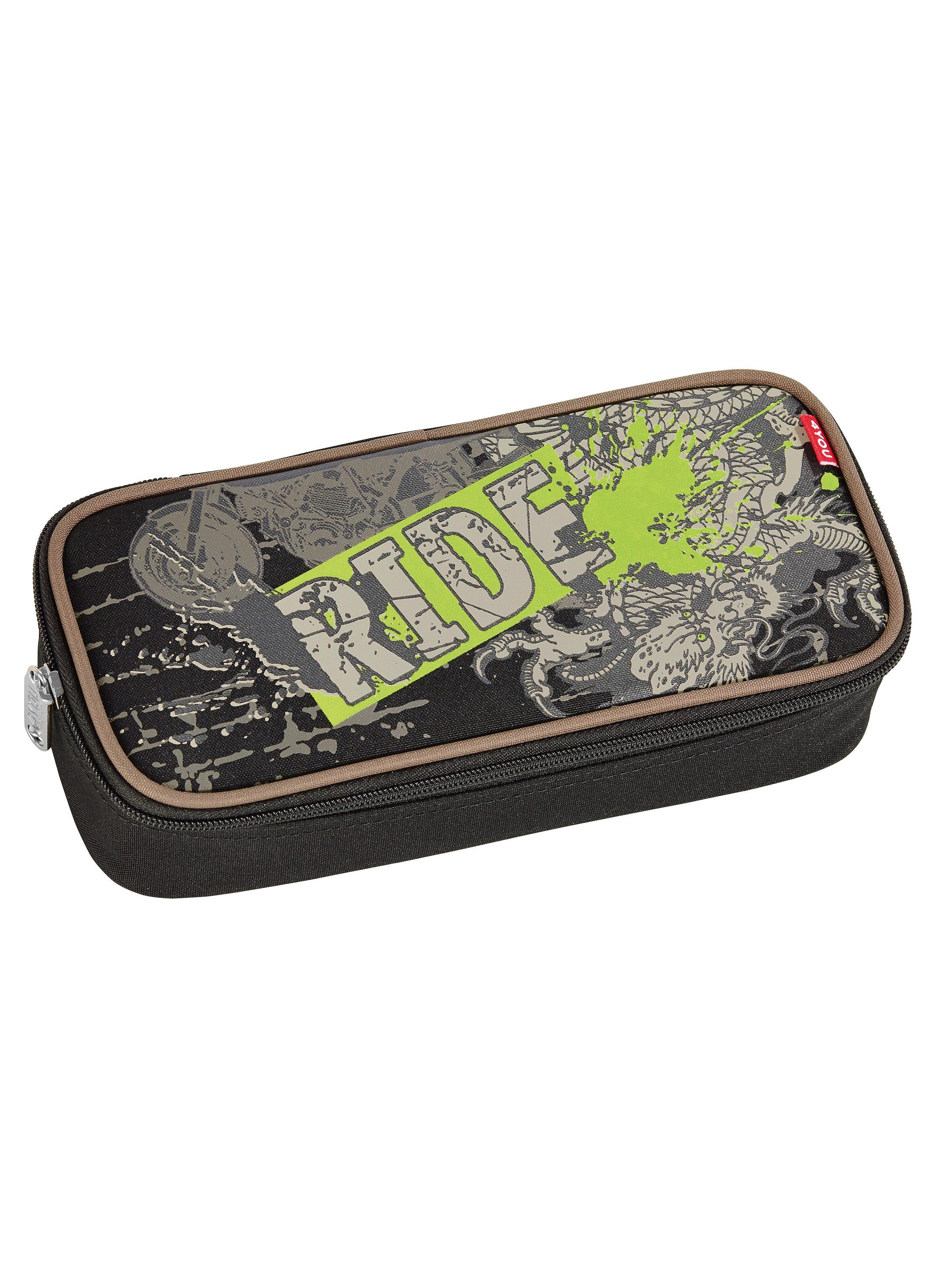 4YOU Mäppchen mit Geodreieck®, »Pencil Case - Ride«