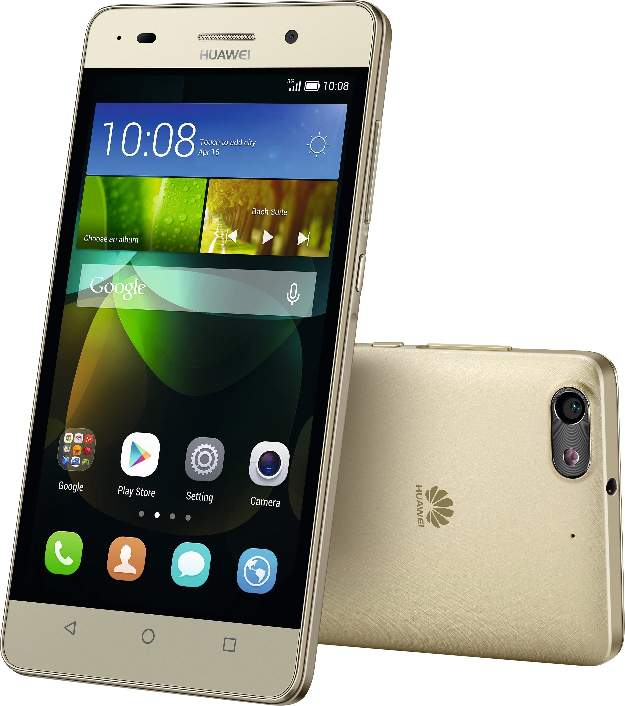 Huawei G PLAY mini Smartphone, 12,7 cm (5 Zoll) Display, Android 4.2.2, 13,0 Megapixel