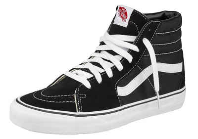 vans damen high schwarz