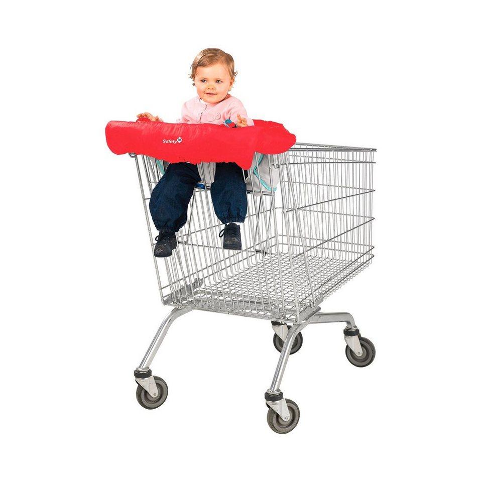 SAFETY 1ST Einkaufswagenschutz in rot