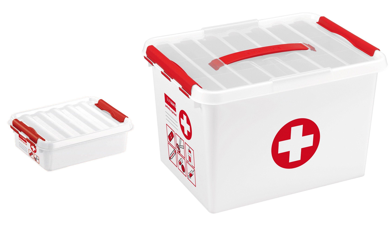 Sunware Erstehilfebox »22 & 1 Liter«, 2er Set