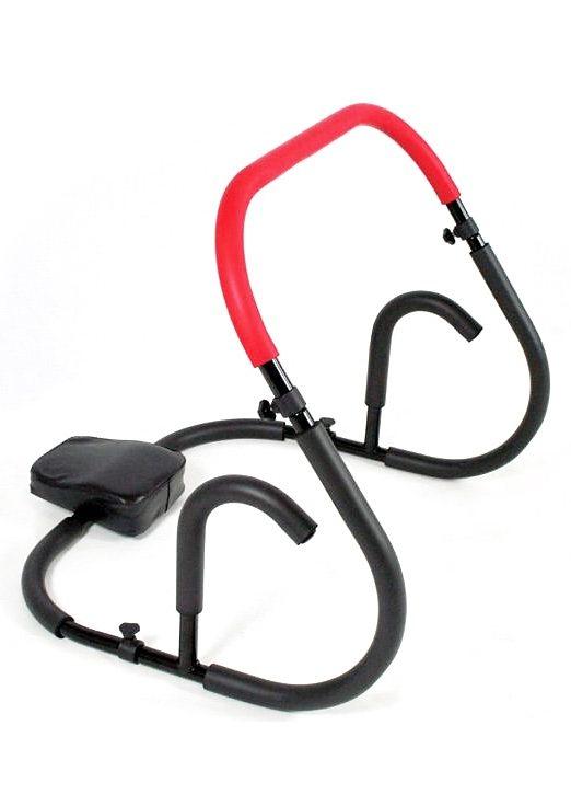 Hammer Bauchtrainer, »AB Roller« in schwarz-rot