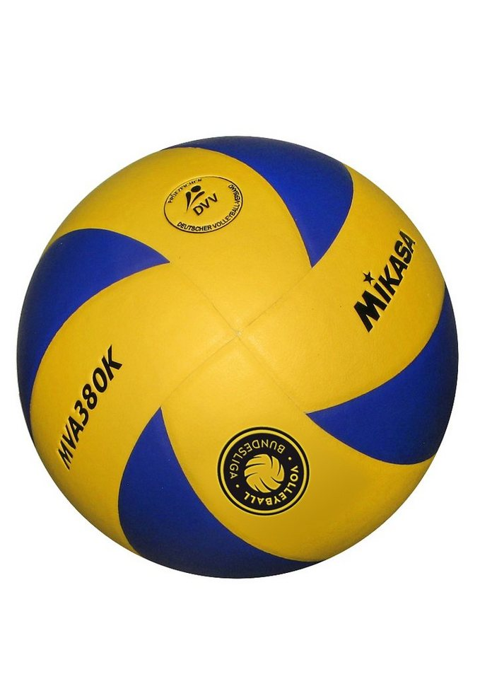 MIKASA® Volleyball, »MVA 380K-VBL« in blau-gelb