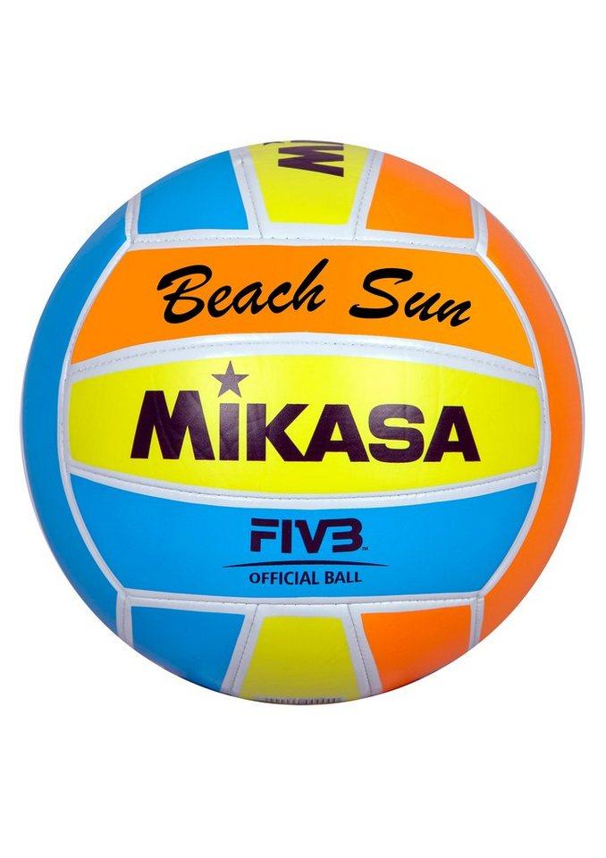 MIKASA® Beachvolleyball, »Beach Sun« in mehrfarbig
