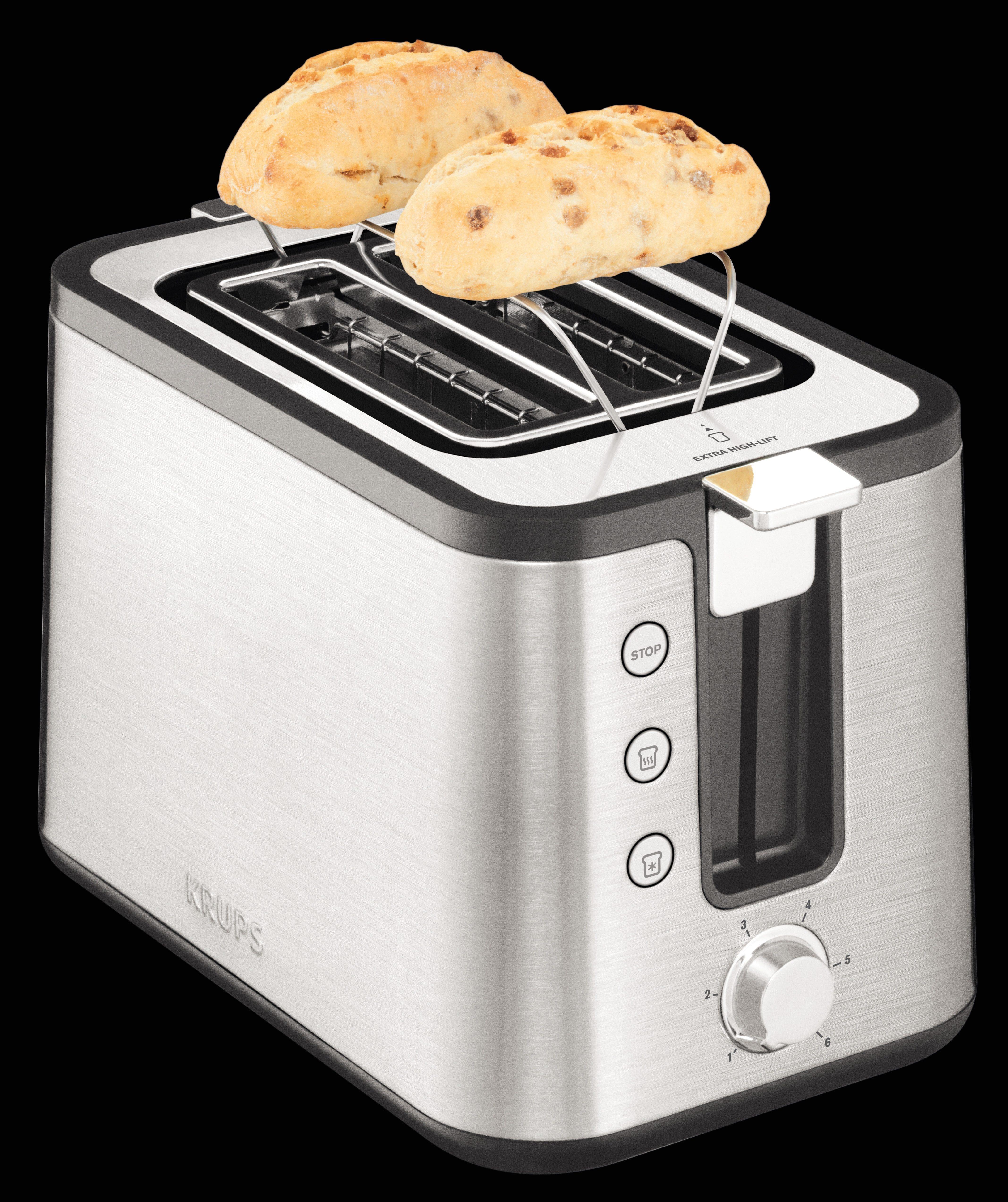 Krups Toaster KH442, für 2 Scheiben, 720 W