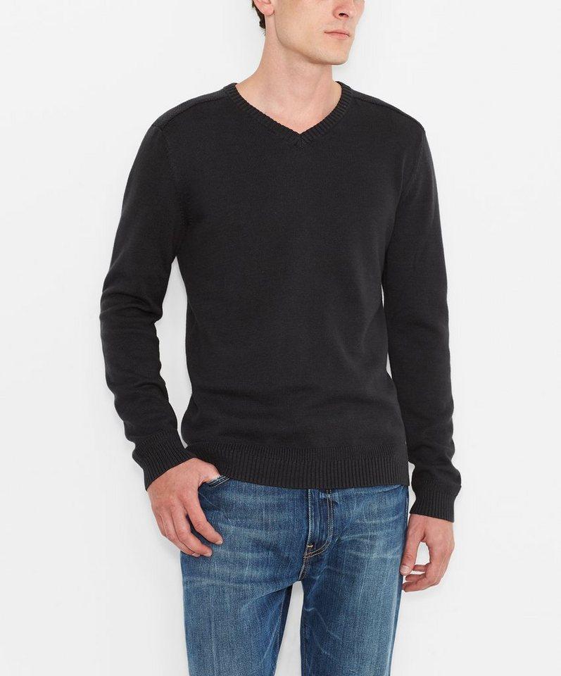 Levi's® Pullover »V-Neck Sweater« in Black
