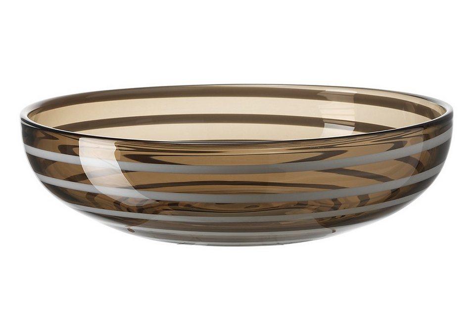 LEONARDO Schale »Rialto«, Glas in beige