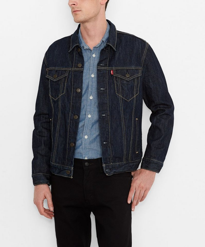 levi 39 s jeansjacke the trucker jacket kaufen otto. Black Bedroom Furniture Sets. Home Design Ideas