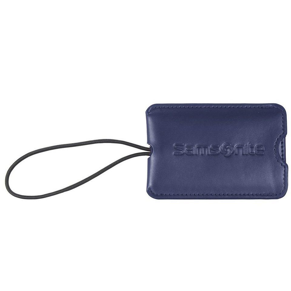 Samsonite Travel Accessories Gepäckanhänger 11,5 cm in indigo blue
