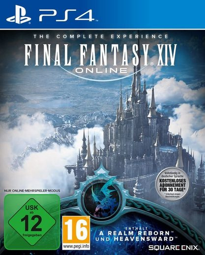 Square Enix Playstation 4 - Spiel »Final Fantasy XIV Online«
