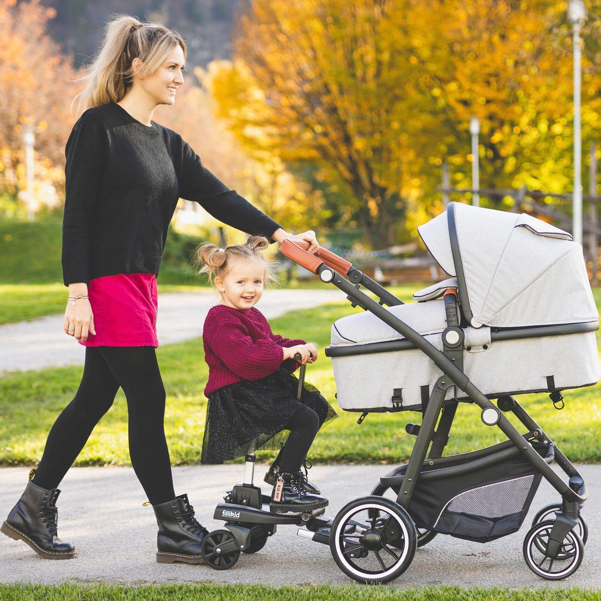 FILLIKID Zusatzsitz für Buggy-Board Filliboard für Kinderwagen