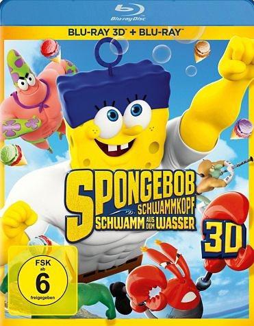 Blu-ray »SpongeBob Schwammkopf: Schwamm aus dem Wasser...«