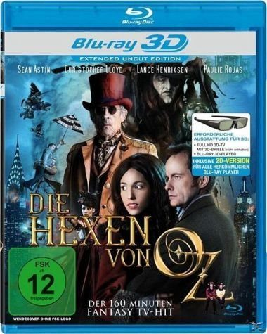 Blu-ray »Die Hexen von Oz (Blu-ray 3D)«