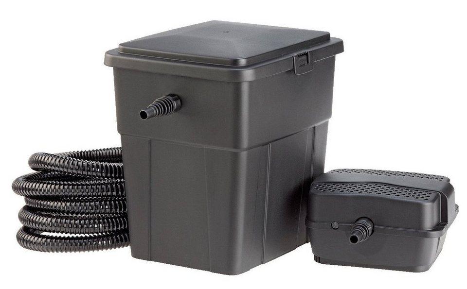 Set: Teichfilter »PondoClear 4.000« in schwarz