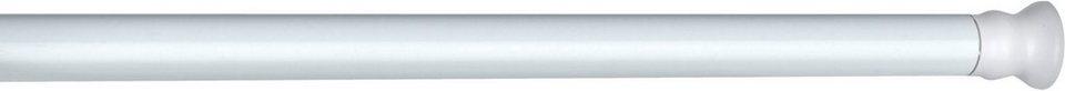 WENKO Teleskop Duschstange extra stark Weiß, 110 - 245 cm in weiß