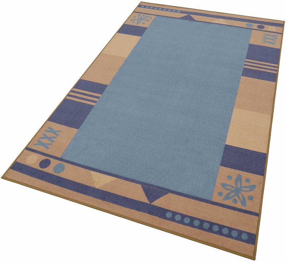 Teppich »Damm«, Theko, rechteckig, Höhe 8 mm in blau