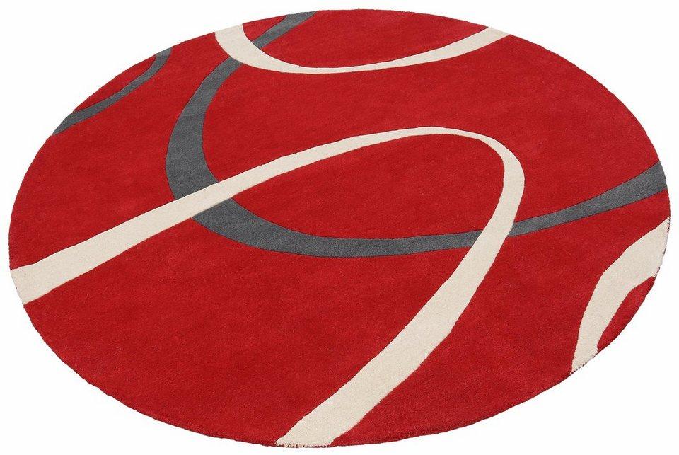 teppich rot rund das beste aus wohndesign und m bel inspiration. Black Bedroom Furniture Sets. Home Design Ideas