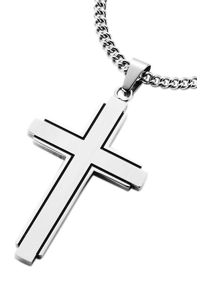 Firetti Kette mit Anhänger »Kreuz«