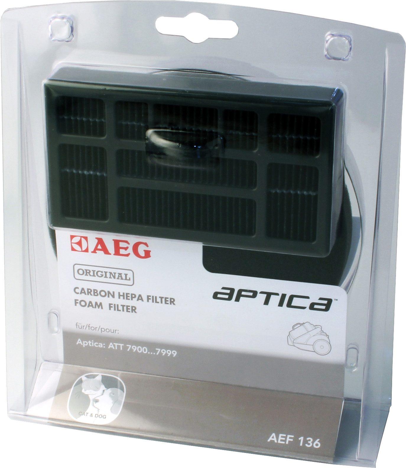AEG Hepafilter-Set AEF 136 für AEG Aptica und Vampyr T10E