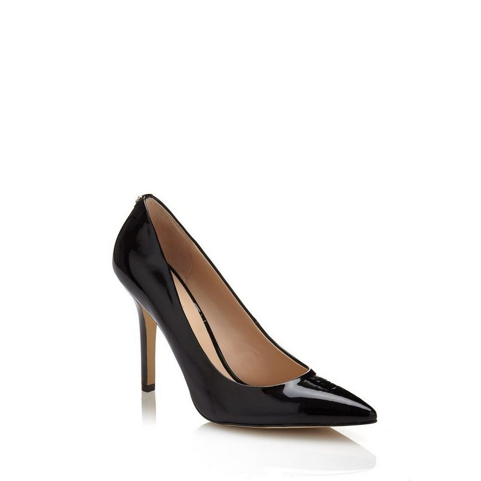 Guess Pumps »Plasmia Patent« in Schwarz