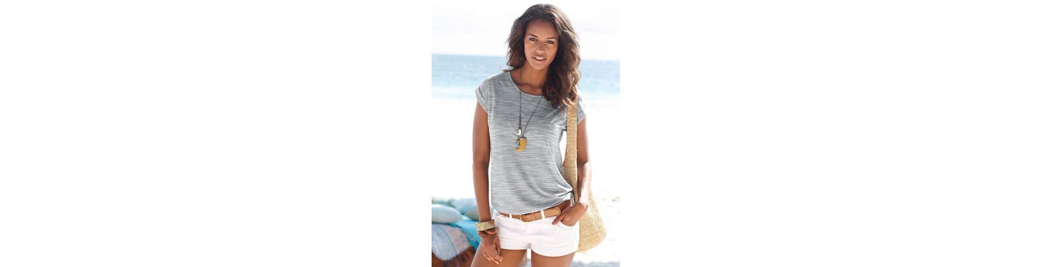 Beachtime melierte T-Shirts (2 Stück) Online Günstig Online Austritt Ansicht Online Günstiger Preis Bestseller Günstiger Preis Billig Beliebt 3ahA3eUrzv