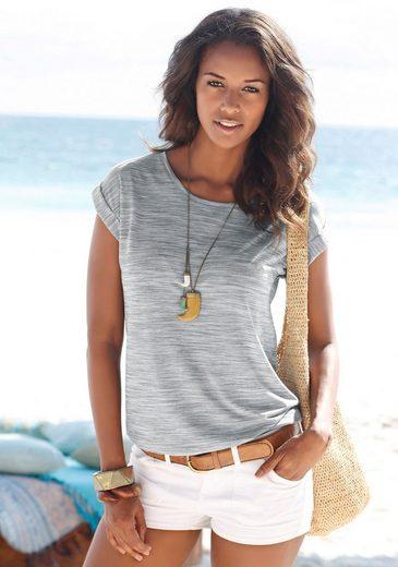 Beachtime melierte T-Shirts (2 Stück)