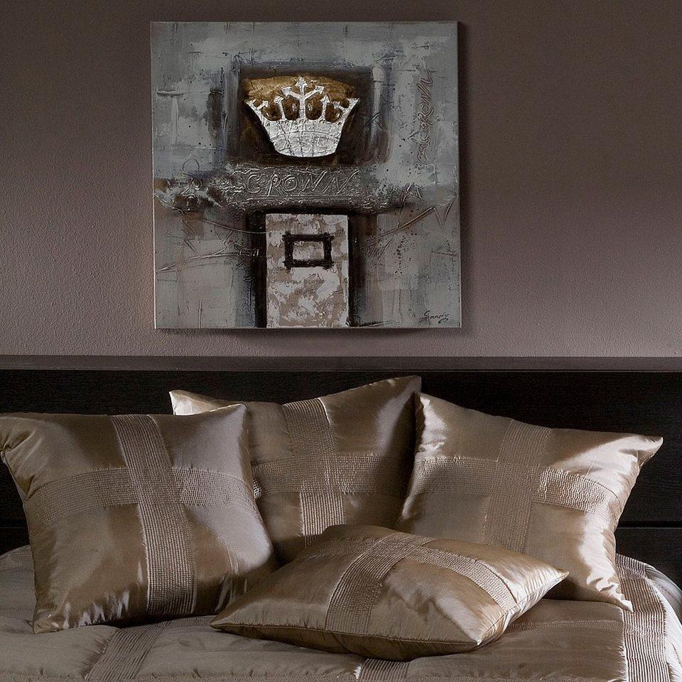 dekokissen damai montana mit zartem schimmer otto. Black Bedroom Furniture Sets. Home Design Ideas