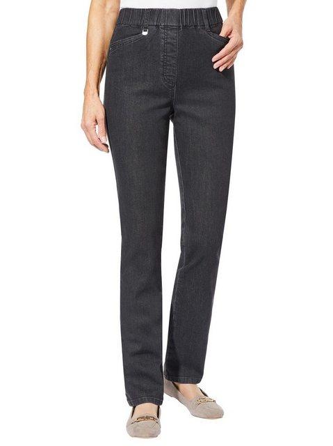 Hosen - Casual Looks Bequeme Jeans › schwarz  - Onlineshop OTTO