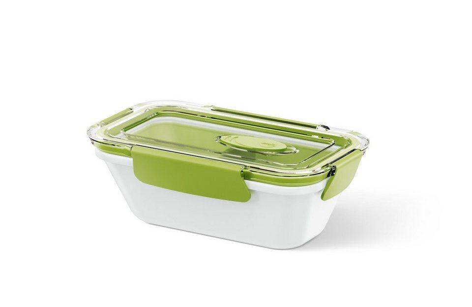 emsa Lunch-Box mit Einsätzen »BENTO BOX« in Weiß, Grün