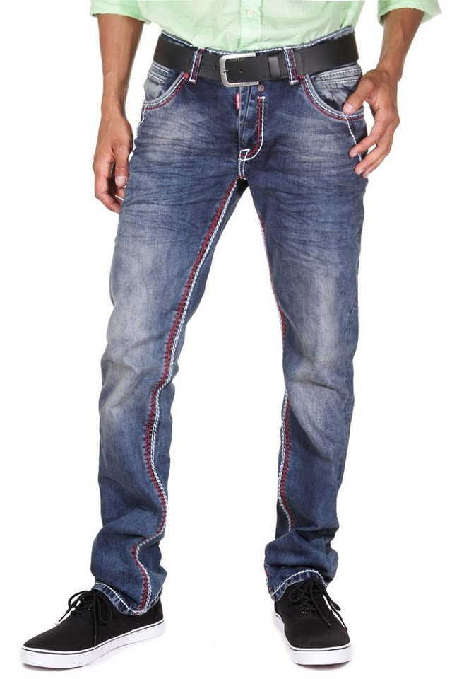 R-NEAL Jeans regular fit in blau