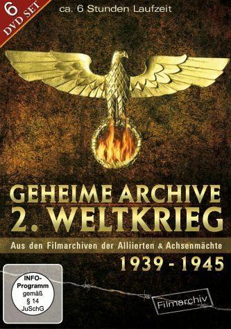 DVD »Geheime Archive - 2. Weltkrieg 1939-1945 (6...«