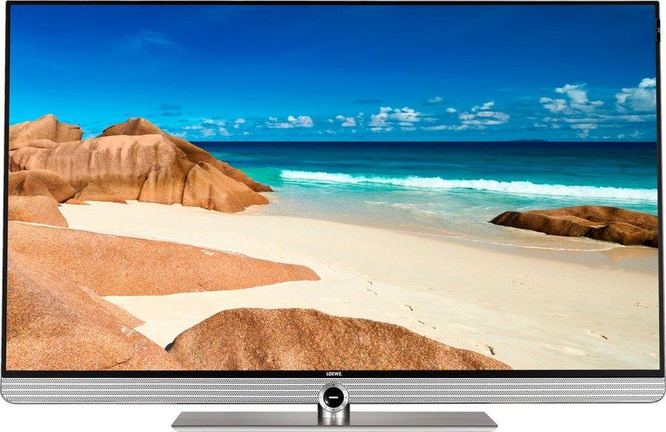 Loewe Art 48, LED Fernseher, 122 cm (48 Zoll), 2160p (4K Ultra HD), Smart-TV in silberfarben
