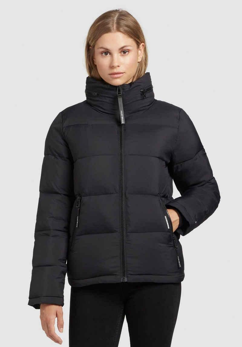 khujo Steppjacke »Blondie Matt« stylische Puffer Jacket in matt schimmernder Optik