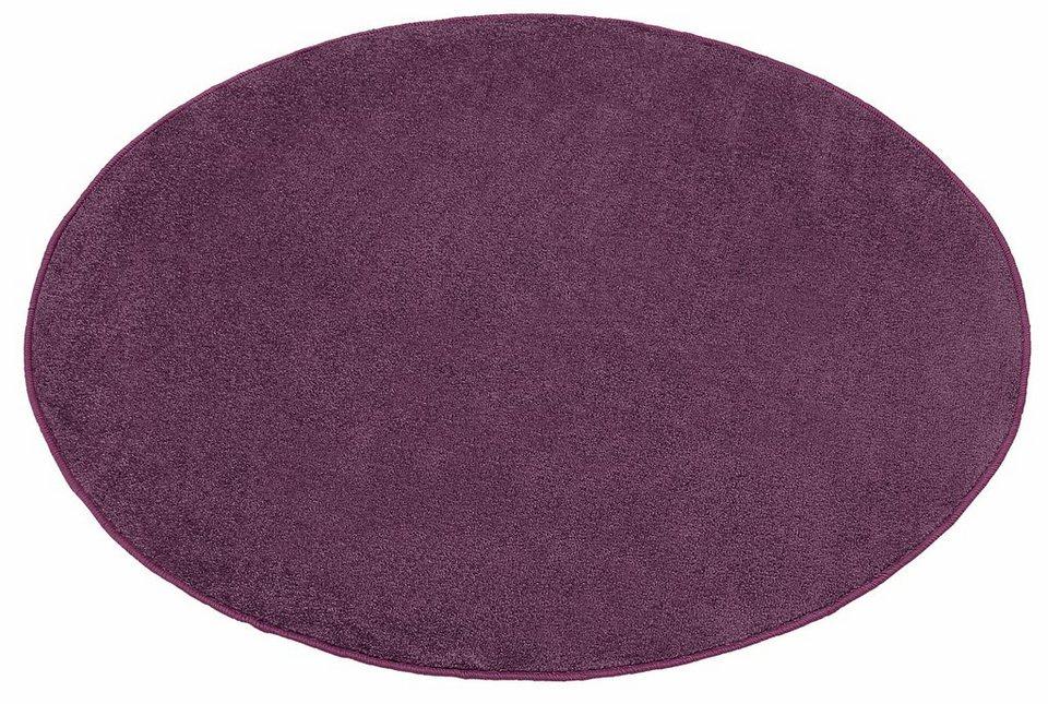 Teppich rund lila  Teppich »Shashi«, Hanse Home, rund, Höhe 8,5 mm | OTTO
