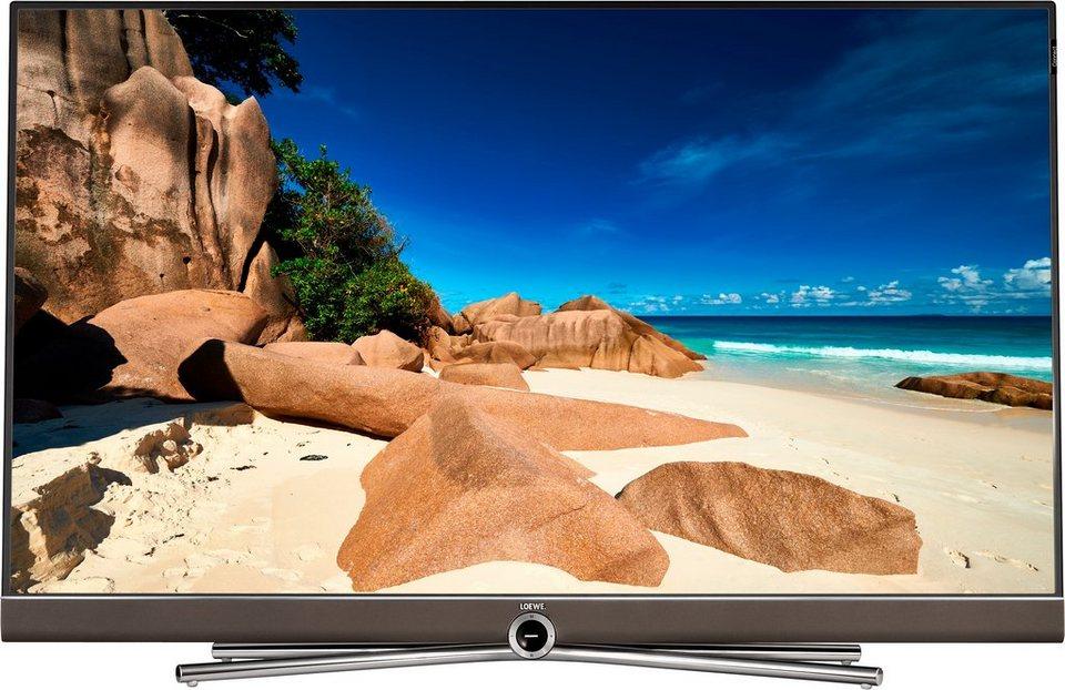 Loewe Connect 48, LED Fernseher, 122 cm (48 Zoll), 2160p (4K Ultra HD), Smart-TV in braun