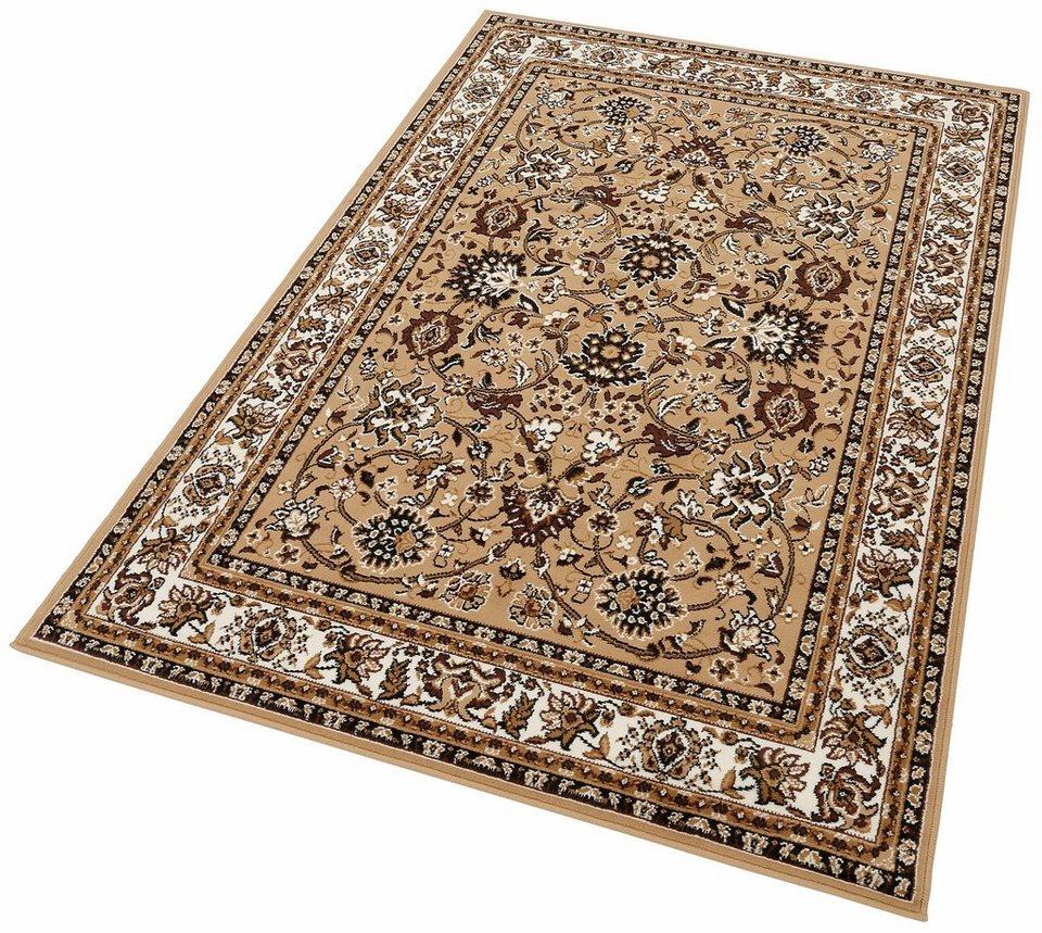 Orient-Teppich, Lalee, »Sahara 117«, gewebt in Beige