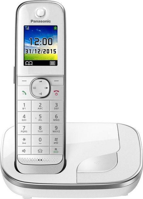 Panasonic »KX-TGJ310« Schnurloses DECT-Telefon (Mobilteile: 1, Weckfunktion, Freisprechen)