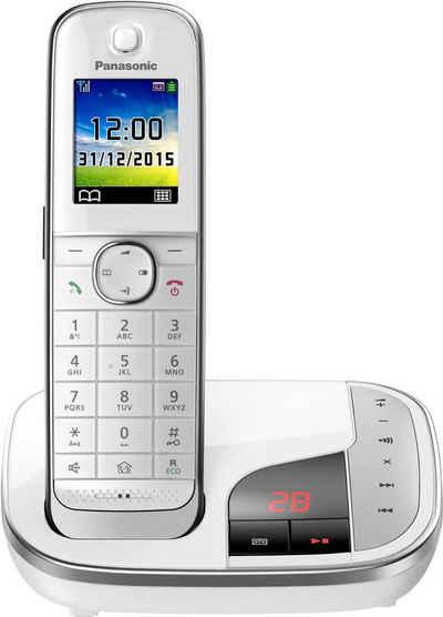 Panasonic »KX-TGJ320« Schnurloses DECT-Telefon (Mobilteile: 1, mit Anrufbeantworter, Weckfunktion, Freisprechen)