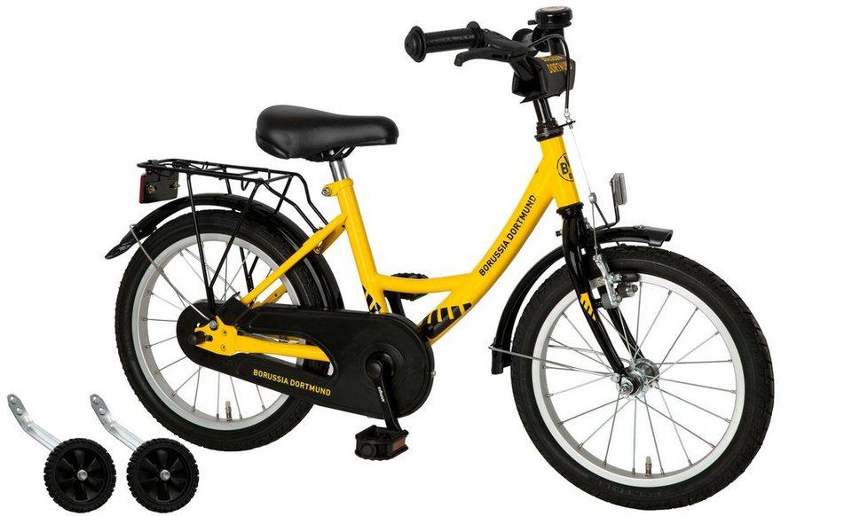 Cycles4Kids Kinderfahrrad »Borussia Dortmund, 40,64 cm (16 Zoll)« in gelb