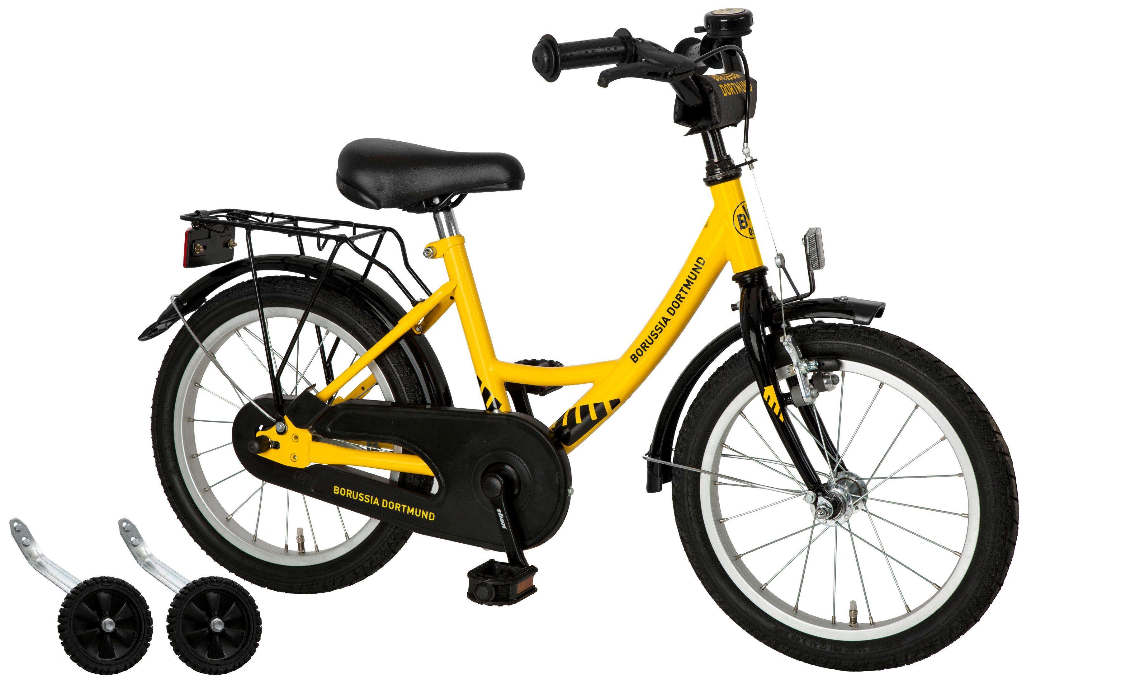 Cycles4Kids Kinderfahrrad »Borussia Dortmund, 40,64 cm (16 Zoll)«