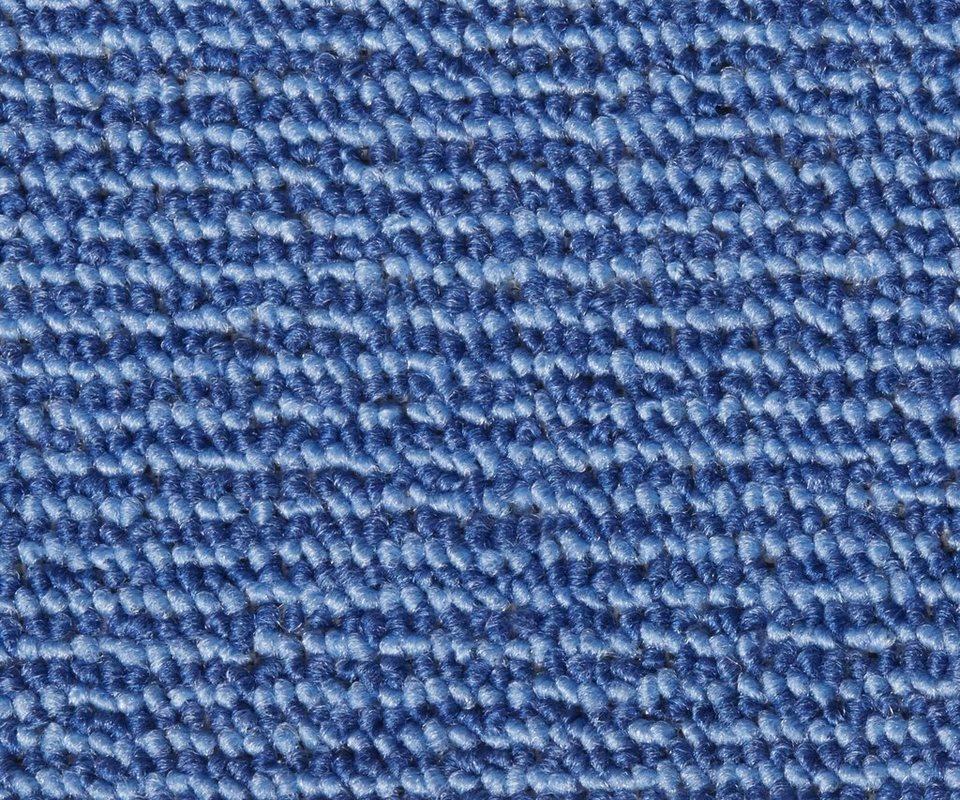 Teppichboden »Ben«, Breite 400 cm in blau