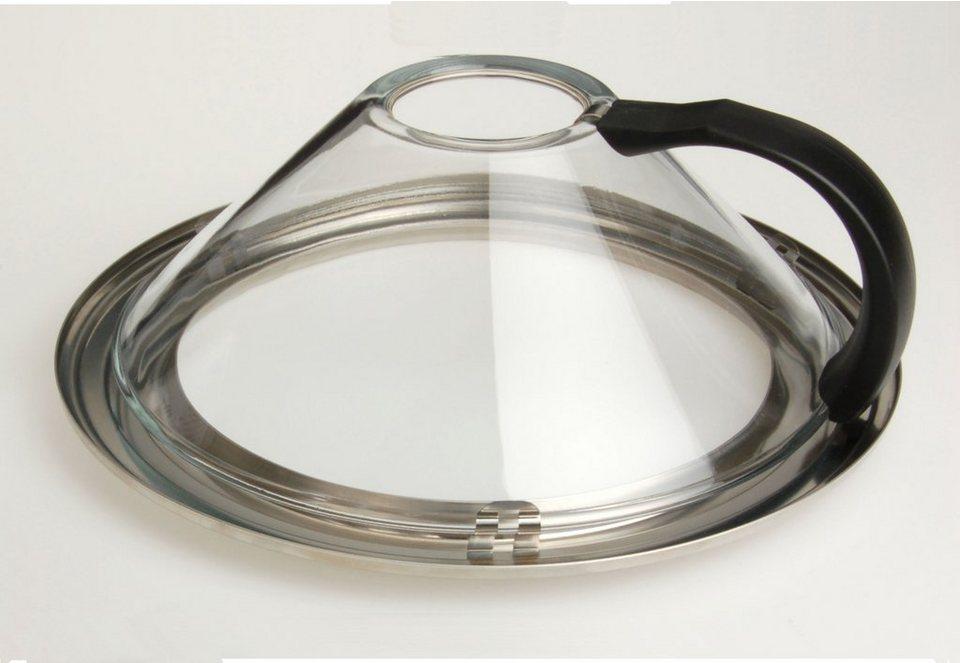 Genius® Brathaube, Glas in glasklar