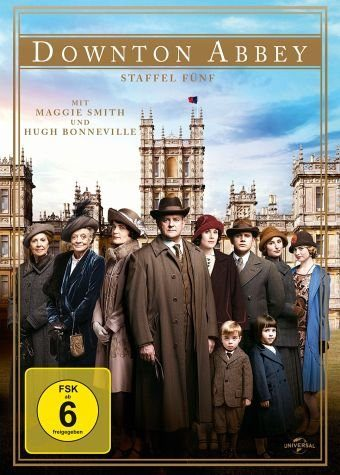 DVD »Downton Abbey - Staffel fünf (4 Discs)«