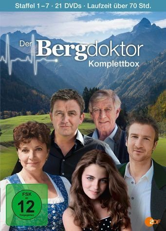 DVD »Der Bergdoktor - Komplettbox, Staffel 1 - 7...«