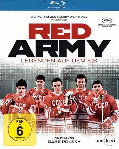 Blu-ray »Red Army - Legenden auf dem Eis«