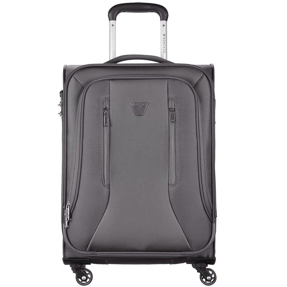 Roncato City 4-Rollen Kabinentrolley 55 cm in antracite