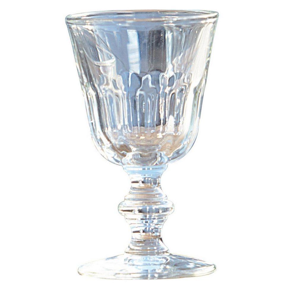 Loberon Weinglaser 6er Packung »Pouce vin« in klar