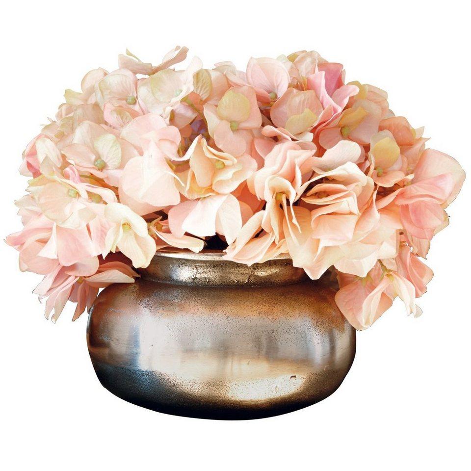 Loberon Vase »Hadrien« in antiksilber