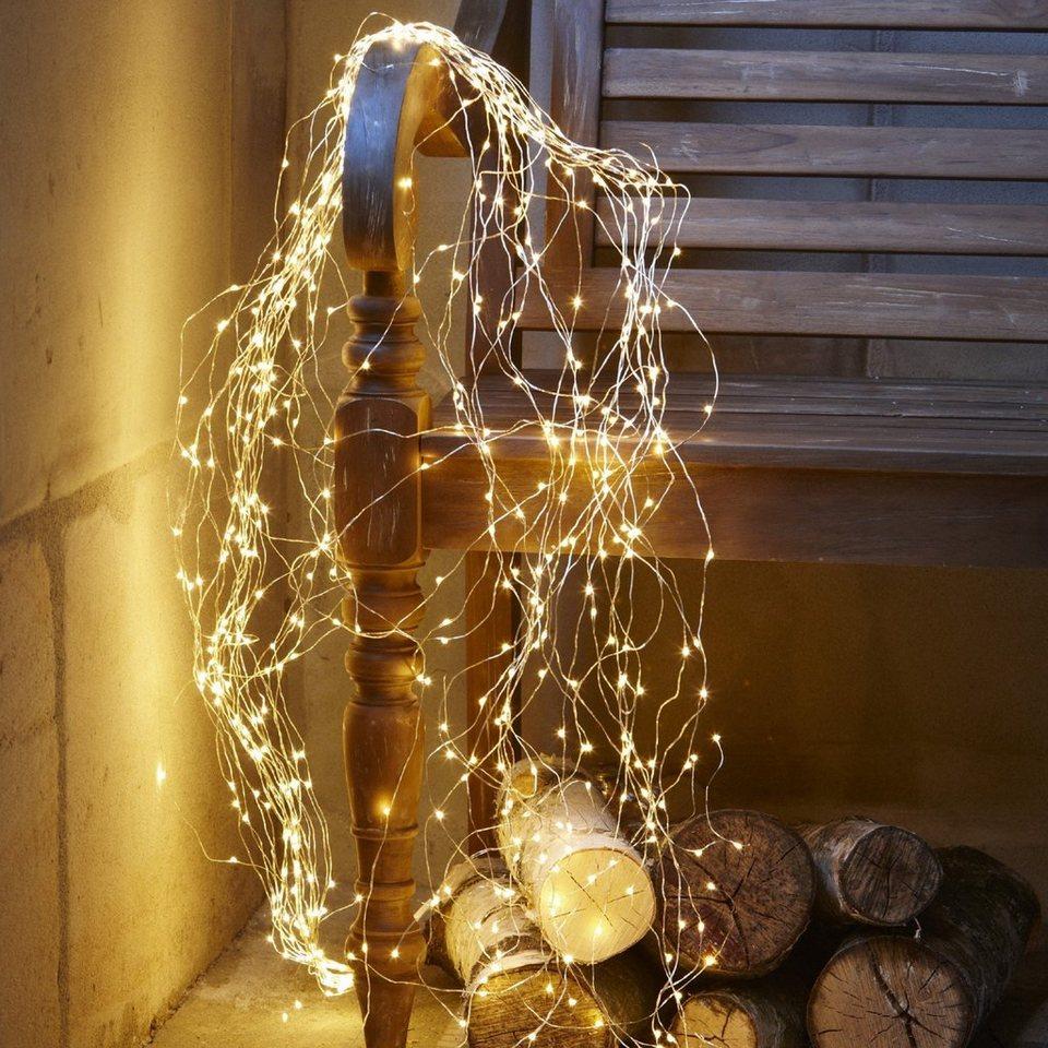 Loberon Lichterkette »Voltage« in silber