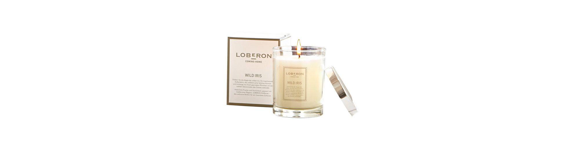 Loberon Duftkerze »Wild Iris«